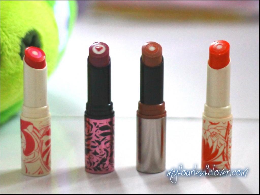 triple core lipstick oriflame