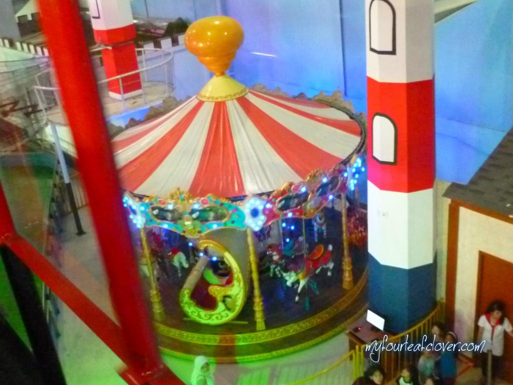 Carousel a.k.a Komidi Putar - foto diambil dari atas