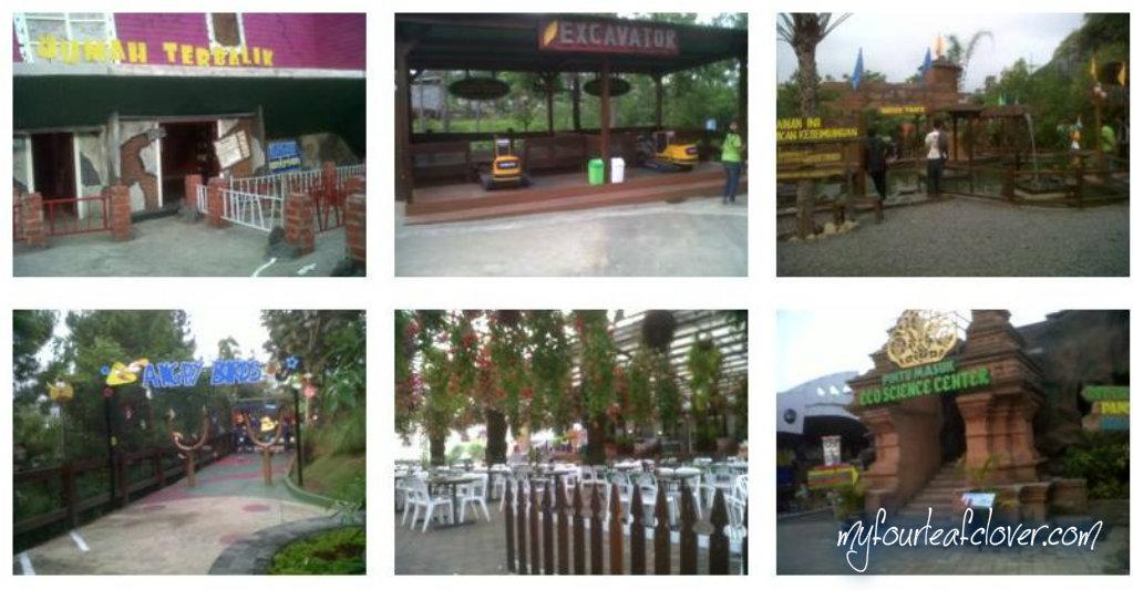 Berbagai wahana di Eco Green Park