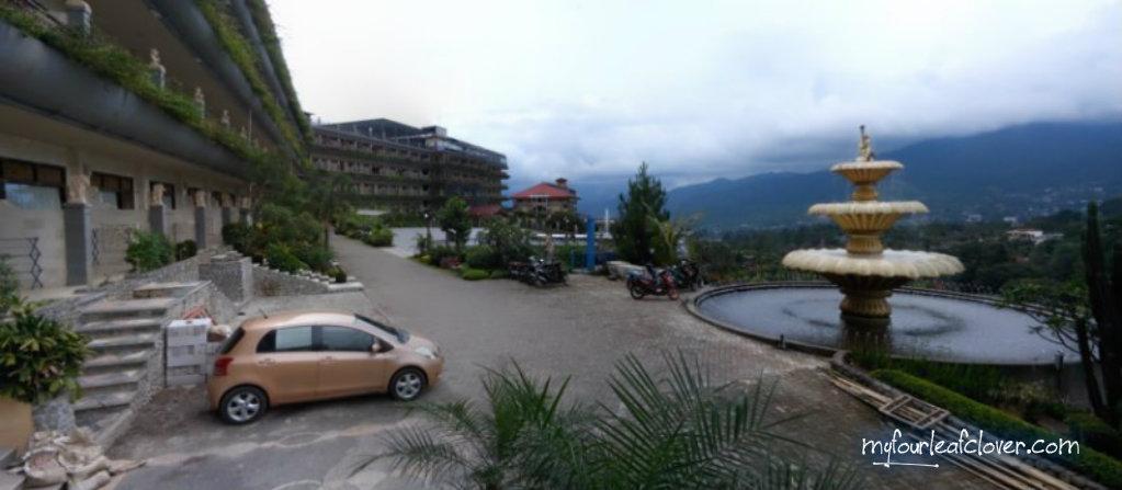 Pemandangan Seruni Gunung Salak