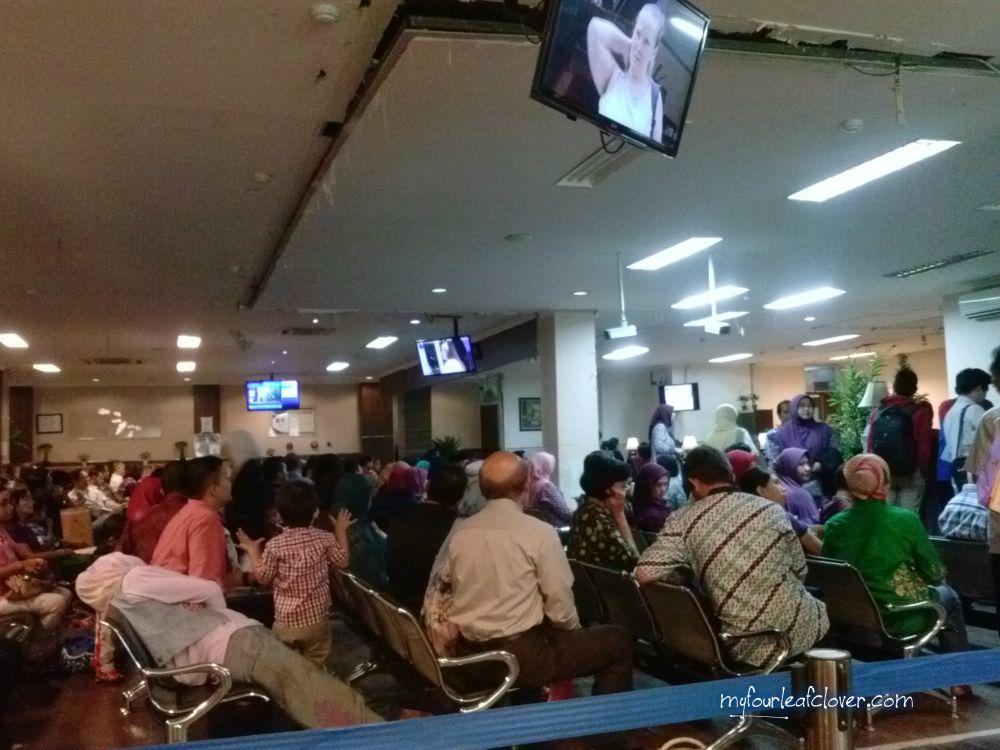 Suasana ruang tunggu di Kanim Jakarta Timur