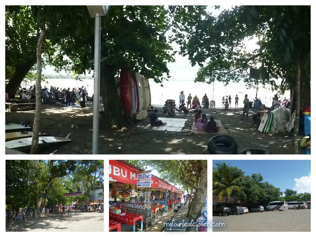 Lokasi wisata pantai Batukaras