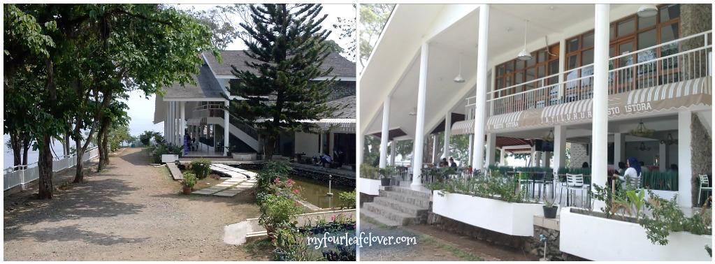Jatiluhur Resto & Resort. Selain restoran, ada penginapannya juga di sini.