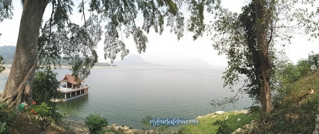 Pemandangan Waduk Jatiluhur dari Jatiluhur Resto & Resort