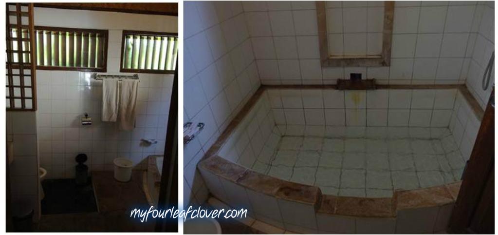 Kamar mandinya. Anak-anak ga ada yang mau berendam di situ :D