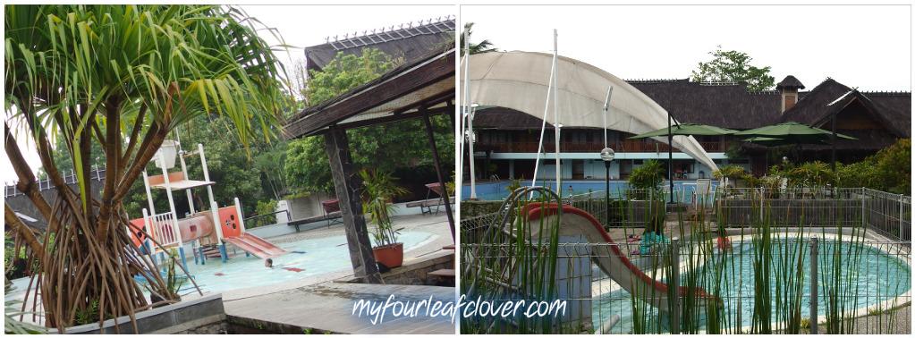 Ada 3 kolam renang di Kampung Sumber Alam.